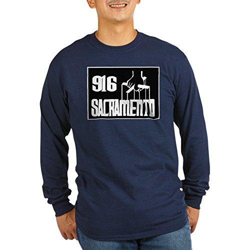 CafePress Bay Area - T-Shirt - Unisex Cotton Long Sleeve - Area Mall Bay