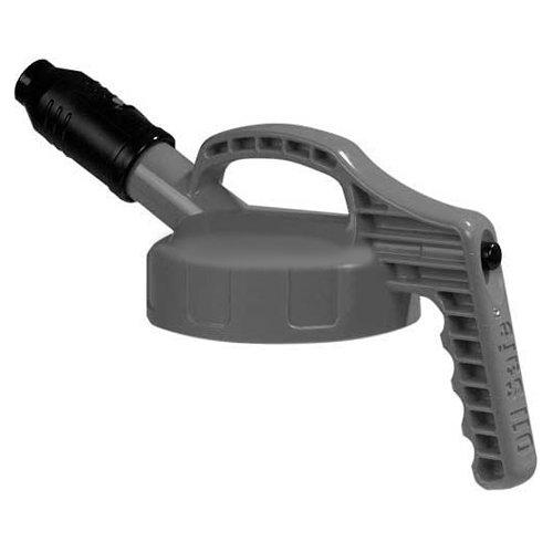 Oil Safe 100504 Stumpy Pour Spout Lid, Grey