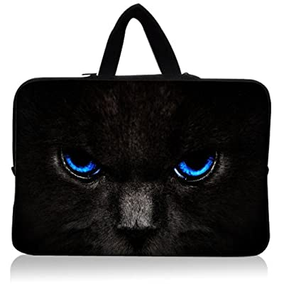 """11.1""""11.6""""12""""12.1""""12.4""""12.5¡°12.6"""" Inch Neoprene Rainproof Laptop Bag Sleeve Case Holder Protector with Hiden Handles Laptop Computer Briefcases for Macbook Air 11.6""""for Microsoft"""