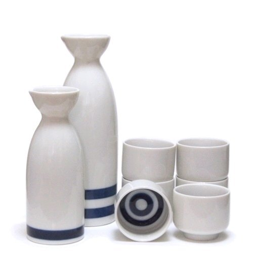 2 synthesis + sake only six set 1 if bull's-eye tasting sake bottle (japan import)