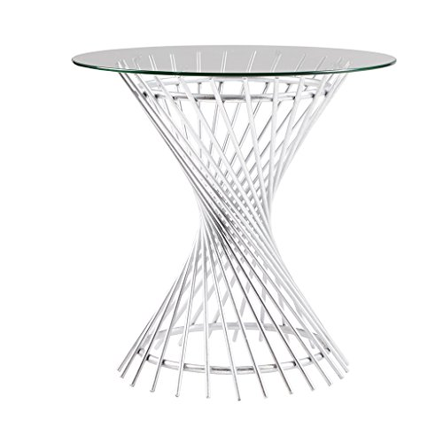 Melrose End Table Silver See Below For Sale