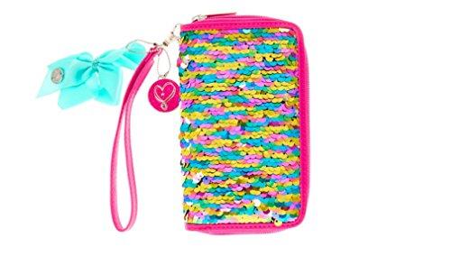 Jojo Siwa Pink Reversible Sequin Wristlet Wallet
