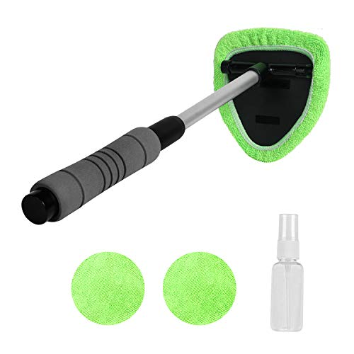 XINDELL Windshield Cleaner Window Windshield Cleaning Tool with Extendable Handle