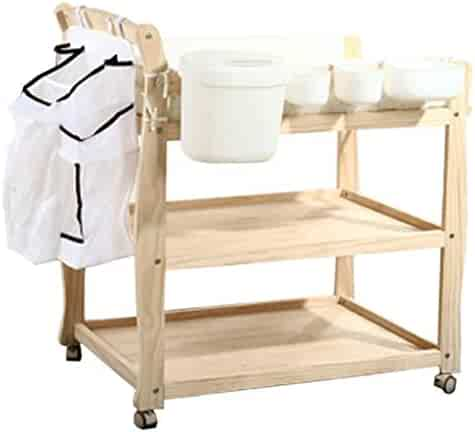 Safety Baby Changing Table with Safety Straps, Save Space Infant Diaper Station Nursery Organizer for Newborn, Multi-Function Massage Care Table with Storage Best Choice