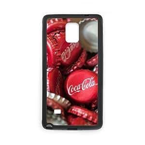 DIY Samsung Galaxy Note 4 Case, Zyoux Custom New Fashion Samsung Galaxy Note 4 Cover Case - Coke bottles