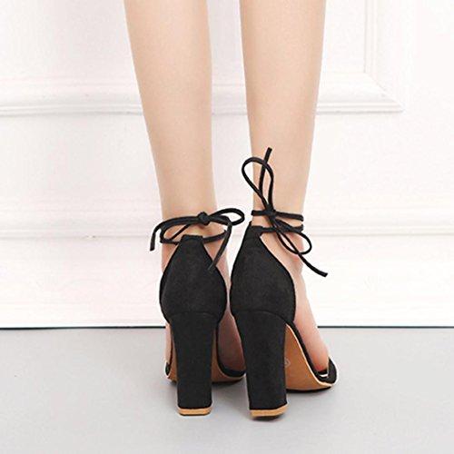 Chaussures Singel Strass Partie Sandales Orteils Beautyjourney Noir Talons Femmes Tongs Sandales Ouvert Basket Occasionnels Hauts Sangle 6BwpzTq