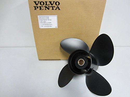 OEM Volvo Penta Marine SX Aluminum 4 Blade Prop 14.25 x 19 Propeller 3587522