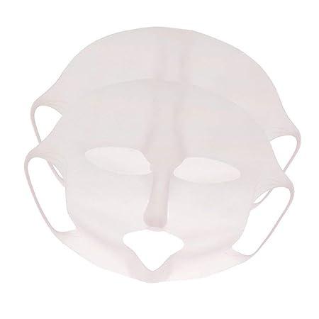 Gesichtsmasken-Abdeckung, wiederverwendbare Silikon-Masken-Abdeckung Gesichtsdampf-wasserdichte Gesichts-befeuchtende Beautym