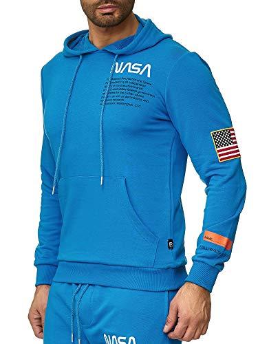 Moda Blu Stampa Redbridge Nasa Uomo Maglione Pullover Hoodie Con Cappuccio Felpa gwgpHxqnf8