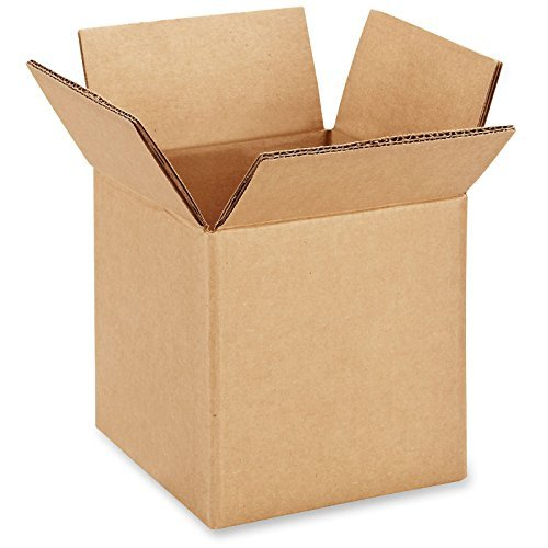 RetailSource BX060606DW675 Double Wall Corrugated Boxes, 6'' x 6'' x 6'', Brown (Pack of 675) by RetailSource
