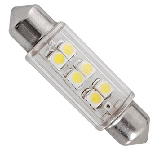 ecosin 2x 5050 31mm 4smd car interior dome festoon led light bulbs lamp white vehicles parts. Black Bedroom Furniture Sets. Home Design Ideas