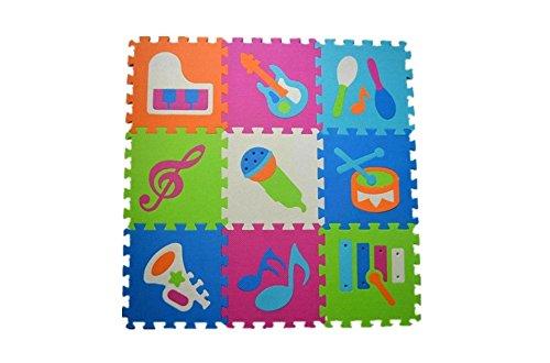 Music Instruments Non-Toxic Foam EVA Playmat