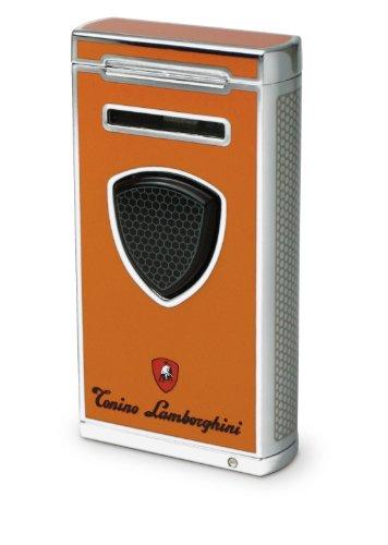 Tonino Lamborghini Pergusa Orange Torch Flame Lighter by Tonino Lamborghini