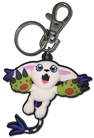 Gran entretenimiento oriental Digimon - Gatomon PVC Llavero ...