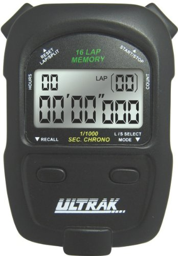 Ultrak 460 16 Lap / Split Event Timing Stopwatch by CEI