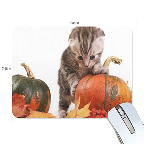 Mouse Pad Halloween Cat Wallpaper Gaming Mousepad Computer Small Thick Mouse Mat Black Marvellous Mouse Pads -
