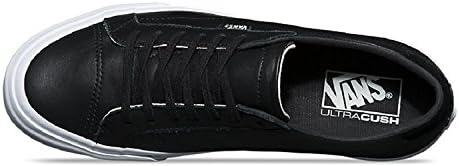 Vans Court DX Leather BlackWhite Walking Shoes (13 B(M) US Women 11.5 D(M) US Men)