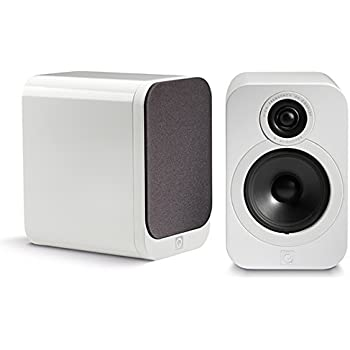 Q Acoustics 3020 Bookshelf Speakers Pair Gloss White