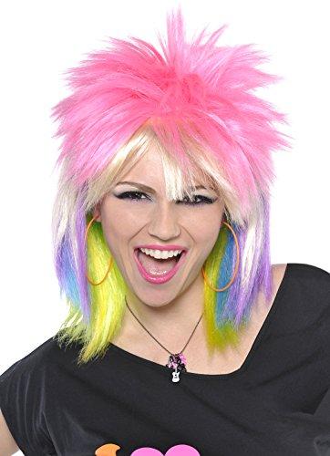 Amscan Punk Rock Chick Wig, Multicolor -
