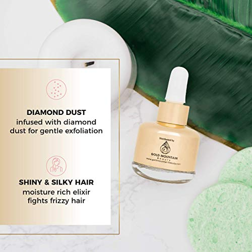 411rUzAl1JL - Anti-Aging Face Serum - Nourishing Elixir Beauty Facial Oil Treatment with Rosehip Oil and 24K Gold Dust for Face, Hair and Body, Rose Hip Seed Oil Softens and Helps Reduce Fine Lines and Wrinkles