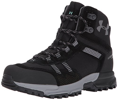 Image of Under Armour Outerwear Women's Post Canyon Mid Waterproof Hiking Boot, (001)/Black, 8