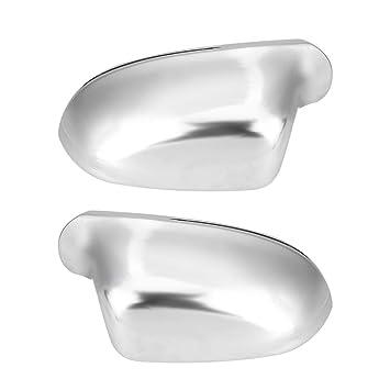 1 par de carcasas de espejo lateral A4 B8 para automóviles, cubiertas de espejos retrovisores Protección de la carcasa del espejo cromado: Amazon.es: Coche ...