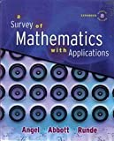 A Survey of Mathematics with Applications with MyMathLab Student Access Kit, Expanded Edition (8th Edition) Dennis C. Runde