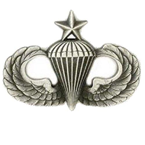 Senior Parachutist Badge (Army Senior Parachutist Badge Oxidized Finish -)
