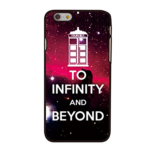 Coque plastique rigide noir decui Noir pour Apple iPhone 6S 6Infinity Ville Love