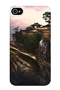 First-class Case Cover Series For Iphone 4/4s Dual Protection Cover Dragon Carrying The Temple CIyJGgS2337LnaSP