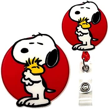 Amazon.com : HASFINE Retractable Keychain Badge Holder ...