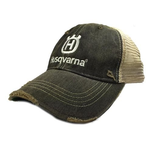 PPE Husqvarna Special Edition Black and Tan Trucker Hat
