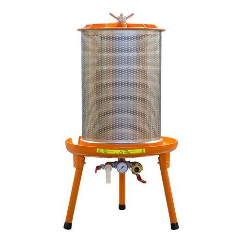 Eagle GER104 Speidel Bladder Press, 90 L, Gray/Orange