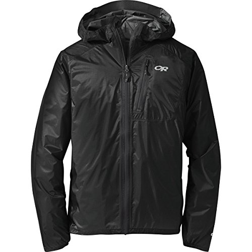 Outdoor Research Men's Helium II Jacket, Black/Storm, X-Large (Black Storm Jacket)