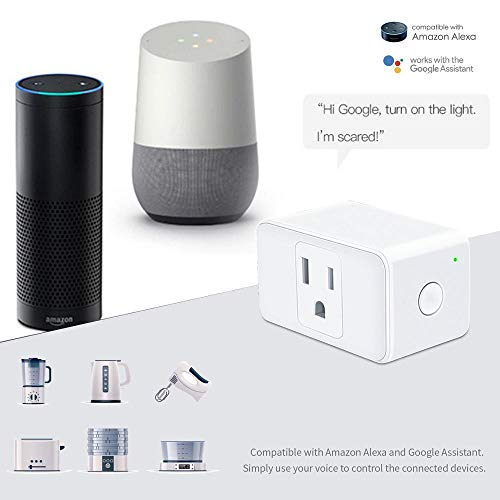 Pawaca Wifi Smart Plug Mini With Alexa Google Assistant Ifttt App
