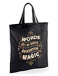 Harry Potter Words of Magic Tote Bag