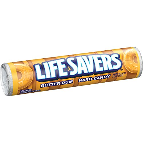 (Life Savers Butter Rum Hard Candy, 1.14 ounce)