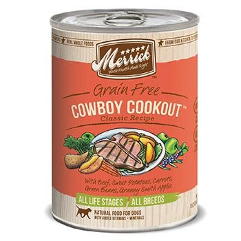 Merrick Classic Grain Free Cowboy Cookout Canned Dog Food, My Pet Supplies