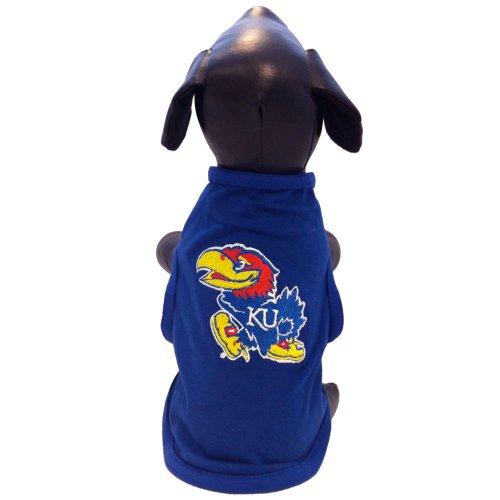 NCAA Kansas Jayhawks Cotton Lycra Dog Tank Top, Medium