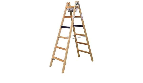 Iller ERGO 1103-7 - Escalera de tijera de madera (2 x 3): Amazon.es: Bricolaje y herramientas