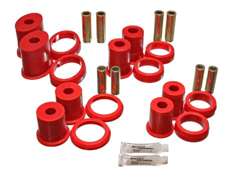 Energy Suspension 4.3155R Rear Lower Control Arm Bushing with Thrust Washer (Suspension Truck Arm Rear)