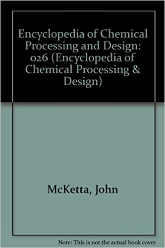 encyclopedia of chemical processing and design mcketta free download