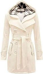 Amazon.com: White - Wool &amp Blends / Wool &amp Pea Coats: Clothing
