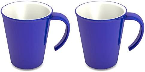 Ornamin 1201 - Juego de Vasos, plástico, Azul, 0.86 X 0.86 X 10.2 ...