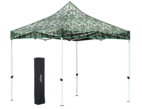 CRINEX 10'x10' Pop Up Canopy Tent, Ideal Gazebo Canopy for Party, Trade Shows, Parties, Picnics, or Outdoor Events ()