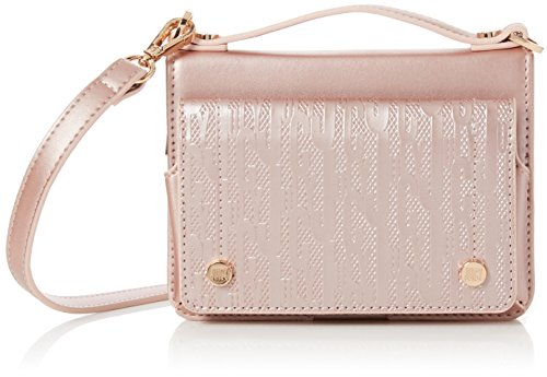 Juicy by Juicy Couture Womens Jefferson Cross-Body Bag Pink (Rose Gold)