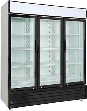 Amazon Com Procool Commercial Glass 3 Door Merchandiser
