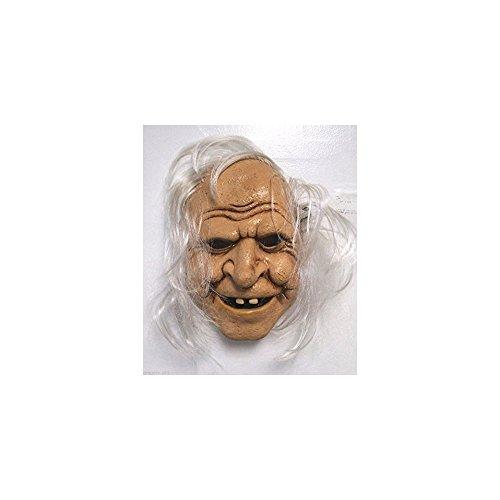 Quality Brand Halloween Fairytale Baba Yaga Evil Witch Missing Teeth Mask]()