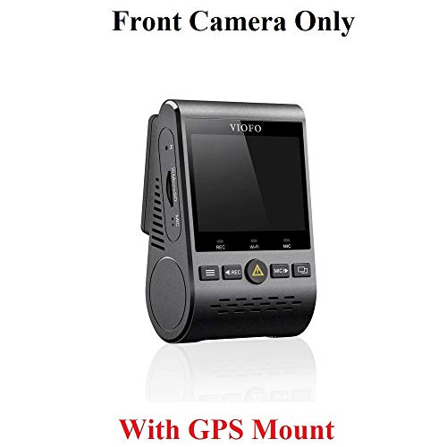 Viofo A129 1080p Dash Camera Sony Starvis IMX291 Image Sensor Dual Band WiFi + GPS Mount – Front Camera Only