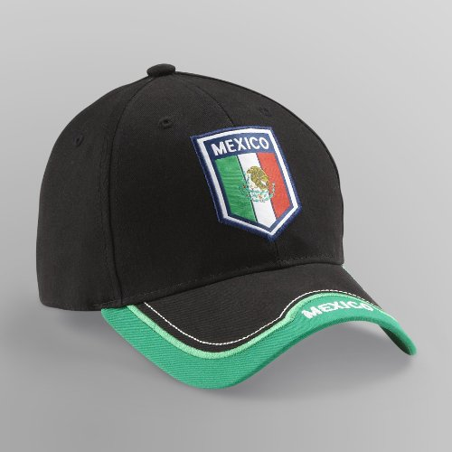 Rhinox Group Mexico National World Cup Soccer Futbol C1P13 Sun Buckle Hat Cap